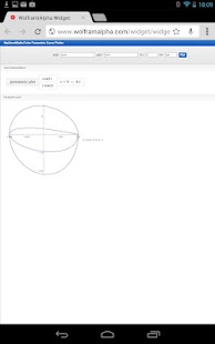Parametric Graph Calculator - screenshot thumbnail