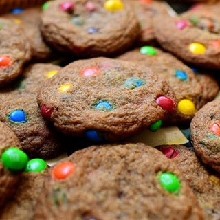 Browned Butter M&M Cookies.
