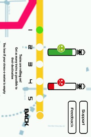 Subway: Retro Line Arcade Game - screenshot