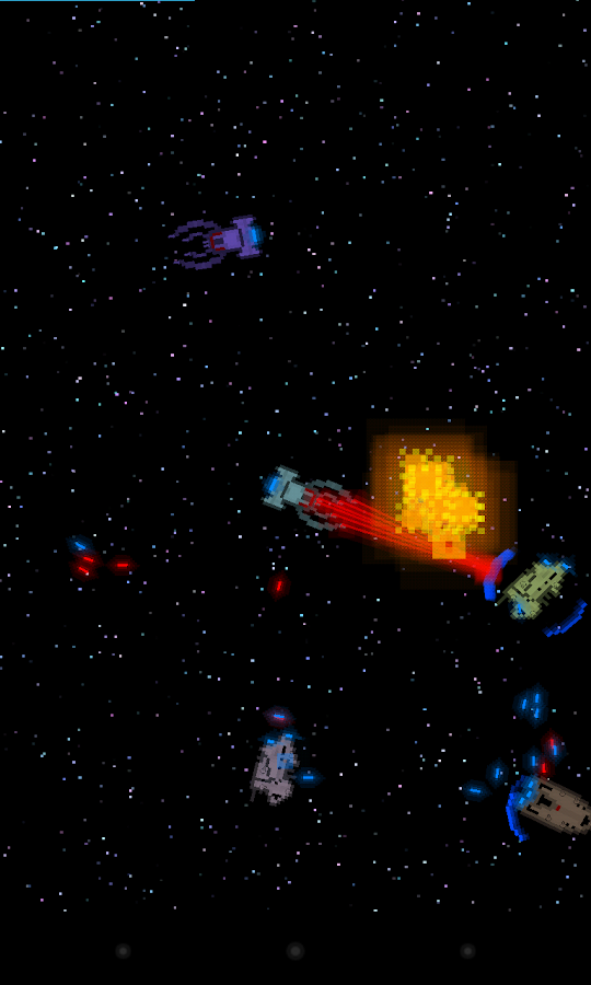 Pixel Fleet Lite- screenshot