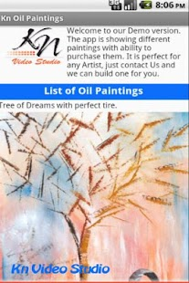 Kn Oil Paintings - screenshot thumbnail