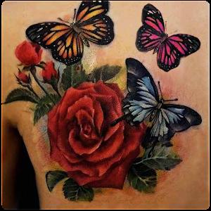 Butterfly Tattoos ClassicUchiha Clan Tattoo