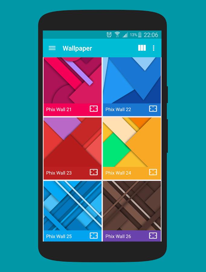 Phix - Icon Pack v2.0.1.2 Full Apk terbaru 2016- screenshot