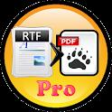 RTF to PDF Converter Pro icon