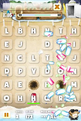Mole Word - screenshot