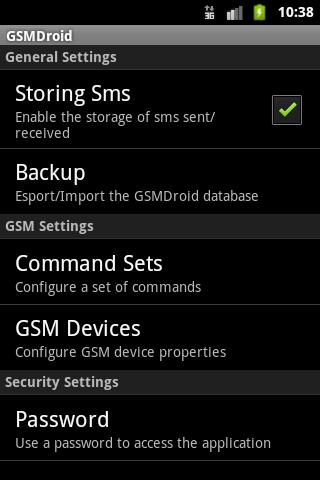 GSM Droid Pro v4.1