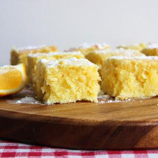Lemon and Coconut Brownies