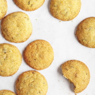 Lemon-Ginger Cookies with Mint.