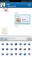 Screenshot of Rich Message