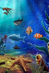 Aqua Life Free Live Wallpaper - screenshot thumbnail