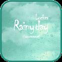 Raindrops go locker theme icon