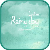 Raindrops go locker theme