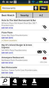 Turks & Caicos Yellow Pages - screenshot thumbnail
