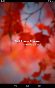 Cell phone tracker - screenshot thumbnail