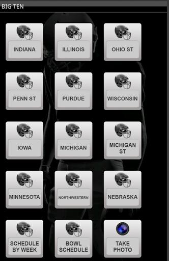 2013 Big Ten Football Schedule