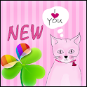 Pink Kitties for GO Launcher