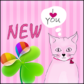 App GO Launcher EX Pink Kitties apk for kindle fire