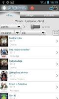 Screenshot of Kino sporedi - Slovenija