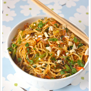 Hakka Noodles With Oodles Of Vegetables And Yes Its Spicy