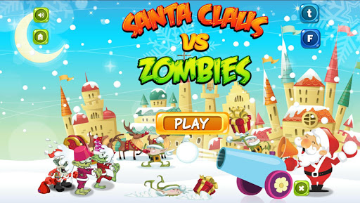 Santa Claus vs Zombies