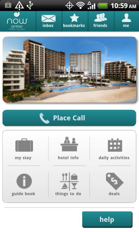 Now Resorts and Spas - screenshot