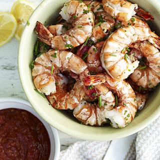 Grilled Shrimp Cocktail.
