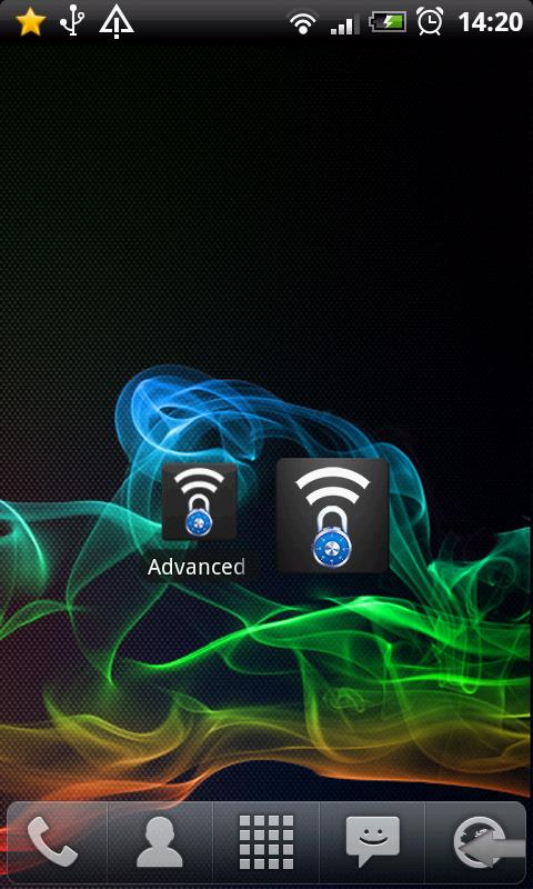 Advanced Wifi Lock- screenshot