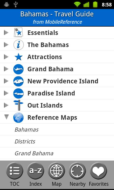 Bahamas - FREE Travel Guide - screenshot