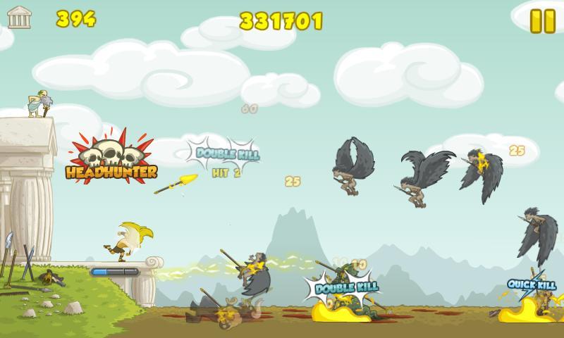 Clash of the Olympians - screenshot