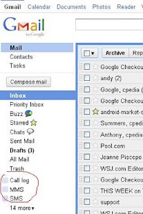 Backup to Gmail- screenshot thumbnail