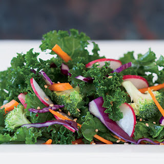 Raw Kale Salad.