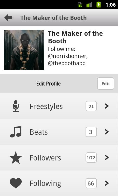 The booth rap studio pro for android version 1. 8. 6   free.