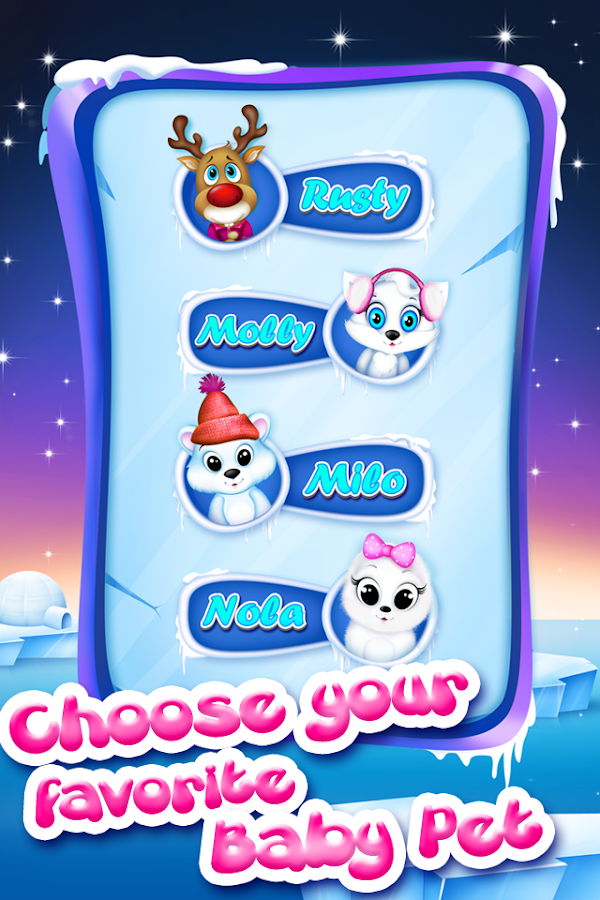 Pet Spa Salon: North Pole- screenshot