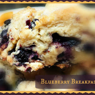 Blueberry Breakfast Scones.