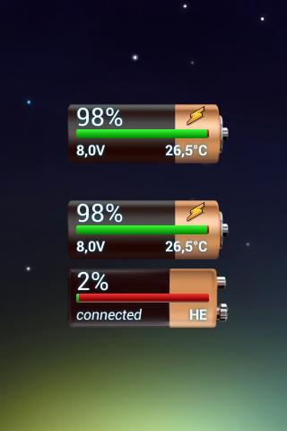 DMA Battery Widget