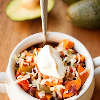 Vegetarian Sweet Potato Chili