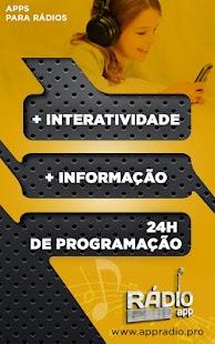 Web Radio Capuchinhos - náhled
