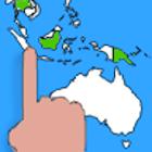 Encuentra paises - Juego mapas icon