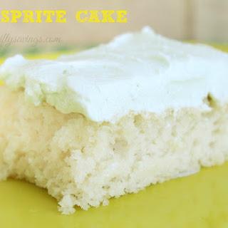 Easy Sprite Cake