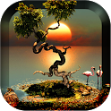 3D Trees Live Wallpaper icon