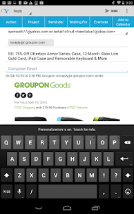 IQTELL Email app and GTD® Screenshot 11