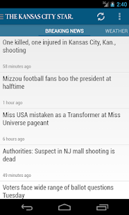 Kansas City Star Newspaper - screenshot thumbnail