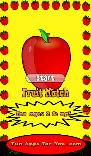Fruit Match Game For Kids