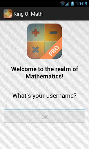 King of Math Pro