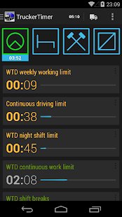TruckerTimer- screenshot thumbnail