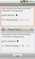Screenshot of Funny Text Creator Donate
