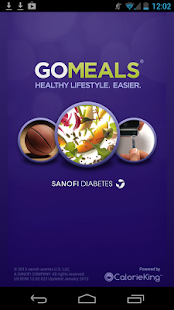 GoMeals Fitness app screenshot for Android