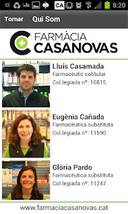 Farmàcia Casanovas - screenshot thumbnail