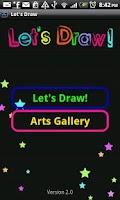Screenshot of Let's Draw
