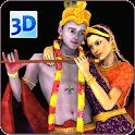 3D Radha Krishna LiveWallpaper icon